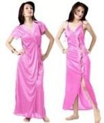 Hot N Sweet Two Piece Satin Nightwear