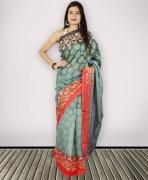 Sangam Bhagalpuri Khadi Silk Saree