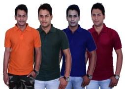 Blaze Polo T-Shirt Combo For Men