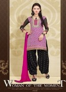 Patiyala NCPH#002 Unstitched Dress Material For Women