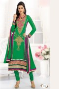 Varun NCV002 Green Women Ethnic Wear