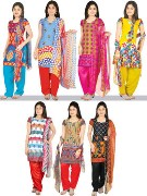 Manasvi 7P1 Set of 7 Dress Material