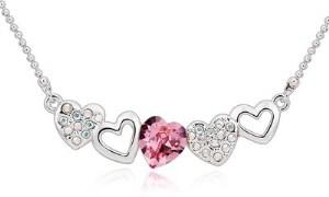 Ouxi Sweetheart Swarovski Crystal Zinc Pendant - 10814
