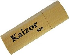 Kaizor 8GB USB Pen Drive, Wood Cabinet