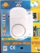 Wireless Home Door Window Burglar Entry Security Alarm System - 2 Pcs Set