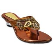 Austrich FQ Women Copper Designer Sandal