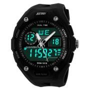 Skmei Imported Trendy Casual Analog & Digital Pu Quartz Watch - NWA05S002C0