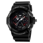 Skmei Imported Trendy Casual Analog & Digital Pu Quartz Watch - NWA05S018C0