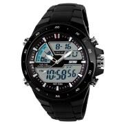 Skmei Imported Trendy Casual Analog & Digital Ceramic Quartz Watch NWA05S016C0