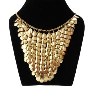 Aza Collection Golden Shell Necklace
