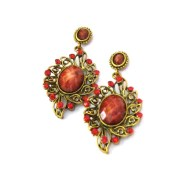 Aza Collections Dangle And Drop Ethinical Earring For Women