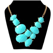 Aza Collections Alloy Necklace Geometrical