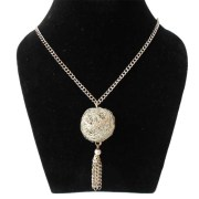 Aza Collections Globe Style Alloy Necklace