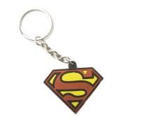 Superman Rubber Key Chain