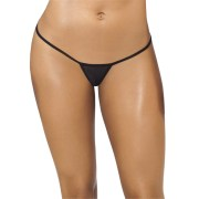Aliza Black Women's G-string Panty