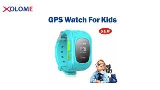 XOLOME A1 KIDS GPS WATCH