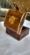Handicraft Antique Design Hand Made Wooden-Brass Jewellery Box