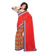 SHAILY ART SILK SAREE WITH EMBROIDERY