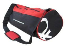 UCB Black & Red Duffle Bag