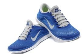 Nike Free 3.0 V5 Blue Running Shoes