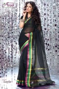 Aura  Layla Cotton Saree and Unstiched Blouse