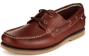 Marks&spencers Blue Harbour High Finished Leather Boat Shoes for Men - Export Surplus Lot Stock-Comes without Original Packing