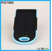 Waterproof 5000 mAh Solar Power Bank