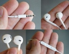 Apple Iphone Headset Earphone with mic