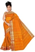 orange tant saree