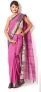pink tant saree