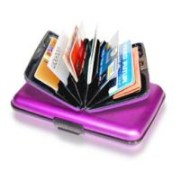 Unisex Aluma Wallet Credit card Holder Debit card Holder Money Purse Cash