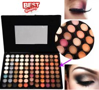 PROFESSIONAL 88 Warm Eyeshadow Shimmer and Matte Palette.