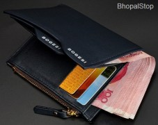 non leather Men Wallet Credit Card Holder for Men PU leather