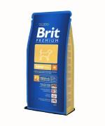 Brit Premium Medium Adult Dry Dog Food, 15 Kg
