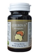CEREBON-N CAPSULES A STRONG MEMORY BOOSTER , PACK OF 60 CAPSULES