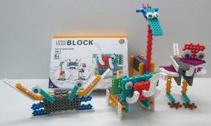 Imported Do-it-Your Self Educational Kit to build  Animals by  Children