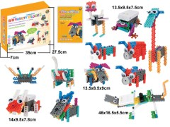 Imported Do-it –Yourself Robotic Kits for kids and Children (Battery Operated)