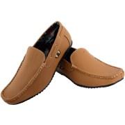 Muxyn Men Beige Loafers