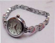 Stylish Fish Designer Strap White Round Dial Ladies Watch