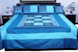 AC Cotton Printed Double Bed Cover