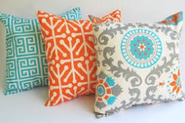 3 Pcs Combo Pack of AC Cotton Color Printed Pillow Cover