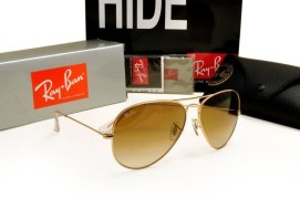 RayBan AVIATOR RB 3025 / RB 3026 Gold/Brown Gradient