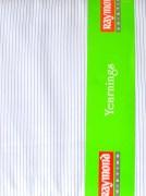 Raymond-White Self Blue Lining Shirting Fabric