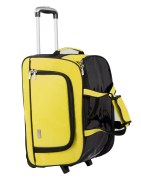 Pragmus Cabin Size Trolley Bag - Yellow