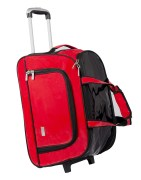 Pragmus Cabin Size Trolley Bag - Red