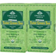 Pack of 2 Tulsi Green Tea 25 TB