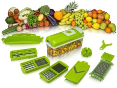 Genius Nicer Dicer Plus Multi Chopper Vegetable Cutter