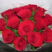 bounch of 20 red roses