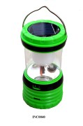 Solar Rechargeable LED Camping Lantern-Green-RY-T95A