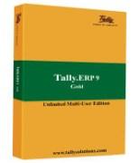 TALLY ERP 9 GOLD MULTIPLE USER